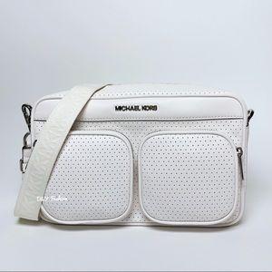 Michael Kors Hanover Perforated Crossbody Bag